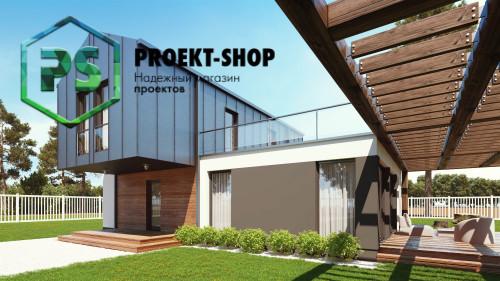 Типовой проект жилого дома 4-2833