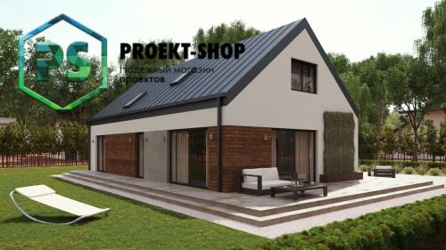 Типовой проект жилого дома 4-2837