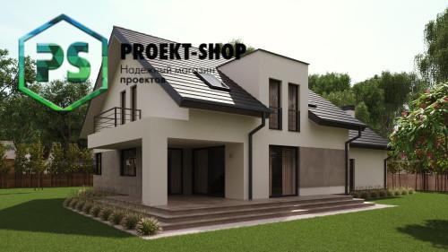 Типовой проект жилого дома 4-2840