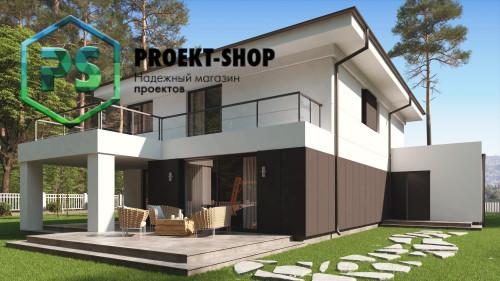 Типовой проект жилого дома 4-2852
