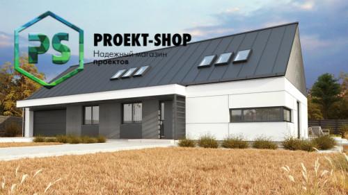 Типовой проект жилого дома 4-2858