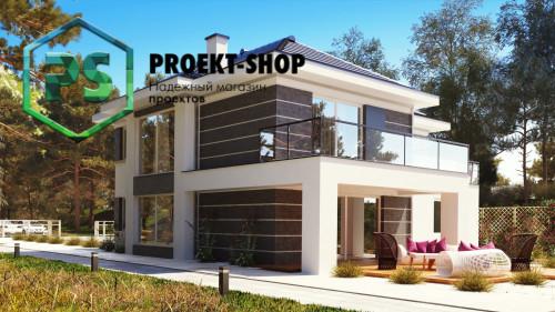 Типовой проект жилого дома 4-2864