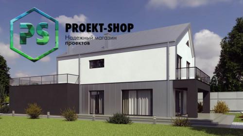 Типовой проект жилого дома 4-2867