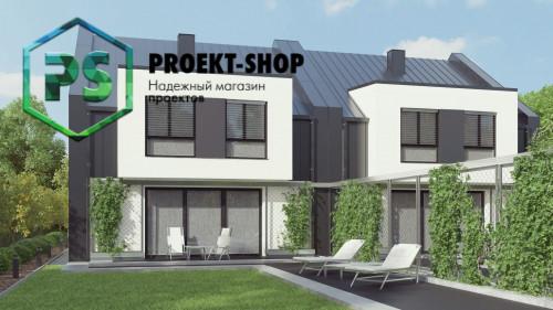 Типовой проект жилого дома 4-2868