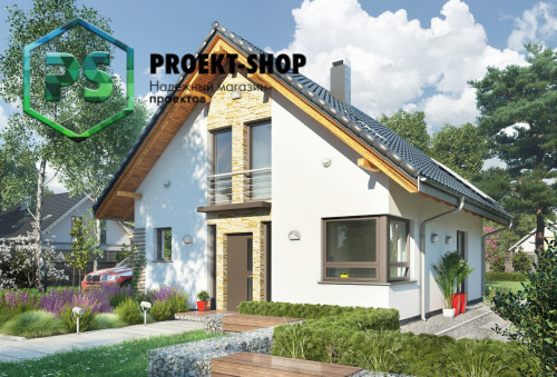 Типовой проект жилого дома 4-2873