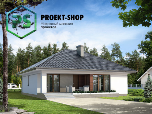 Типовой проект жилого дома 4-2878