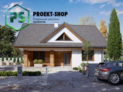 Типовой проект жилого дома 4-2921