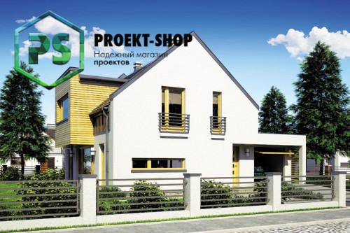 Типовой проект жилого дома 4-2931