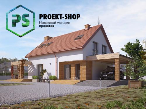 Типовой проект жилого дома 4-2934
