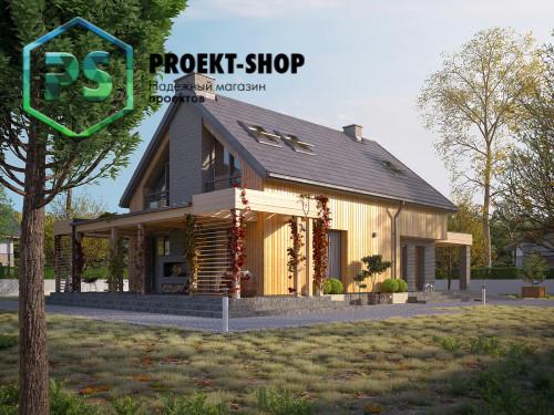 Типовой проект жилого дома 4-2935