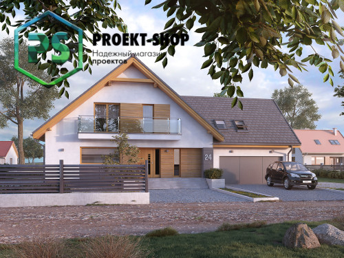 Типовой проект жилого дома 4-2967