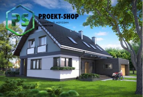 Типовой проект жилого дома 4-3017