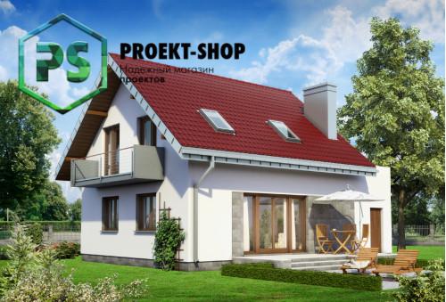 Типовой проект жилого дома 4-3022