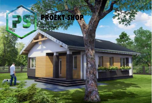 Типовой проект жилого дома 4-434