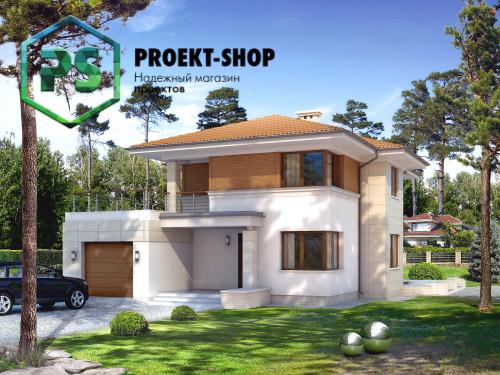 Типовой проект жилого дома 4-453