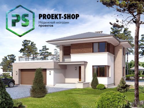 Типовой проект жилого дома 4-455