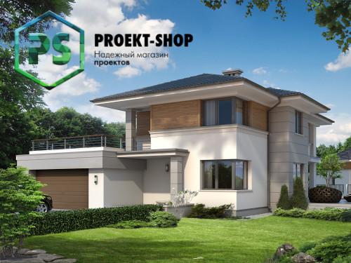 Типовой проект жилого дома 4-456
