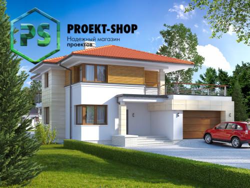 Типовой проект жилого дома 4-457