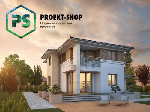 Типовой проект жилого дома 4-458