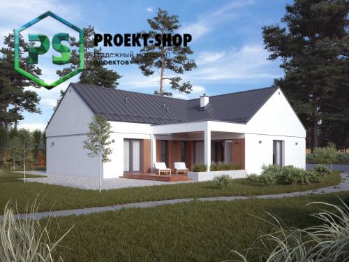 Типовой проект жилого дома 4-463