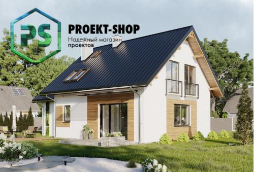 Типовой проект жилого дома 4-468