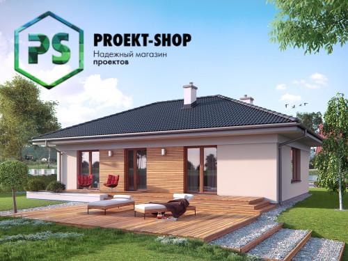 Типовой проект жилого дома 4-609