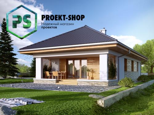 Типовой проект жилого дома 4-610