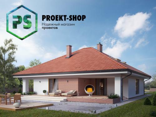 Типовой проект жилого дома 4-615