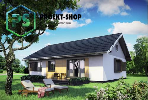 Типовой проект жилого дома 4-819