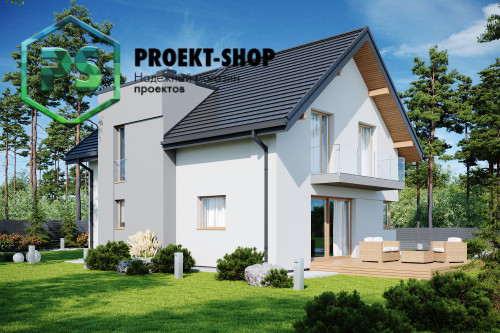 Типовой проект жилого дома 4-821
