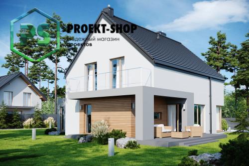 Типовой проект жилого дома 4-822