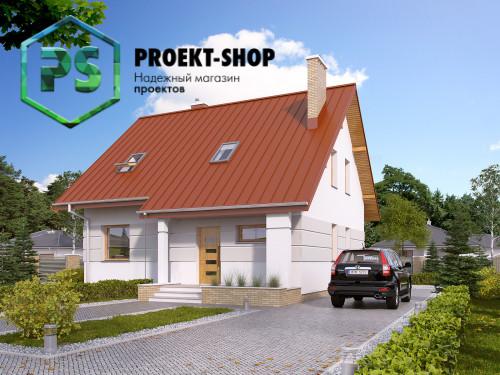 Типовой проект жилого дома 4-858