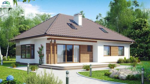 Типовой проект жилого дома Z106