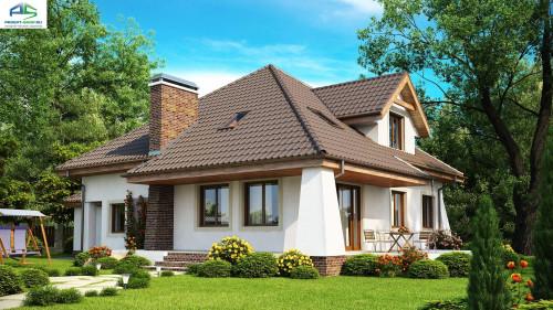 Типовой проект жилого дома Z109