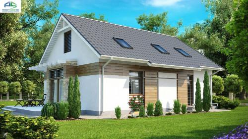 Типовой проект жилого дома Z113