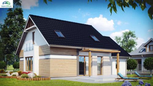 Типовой проект жилого дома Z114