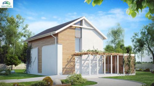 Типовой проект жилого дома Z115