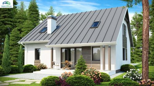 Типовой проект жилого дома Z119