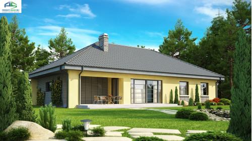 Типовой проект жилого дома Z123