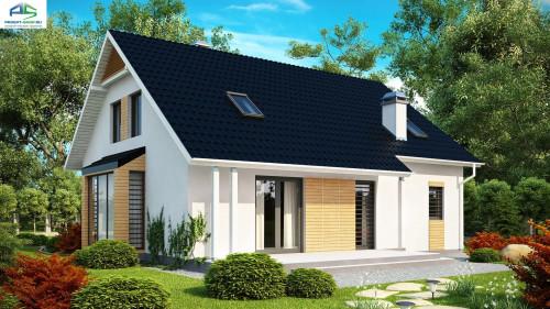 Типовой проект жилого дома Z124