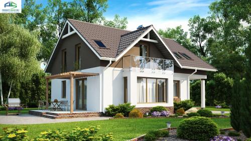Типовой проект жилого дома Z128
