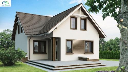 Типовой проект жилого дома Z13