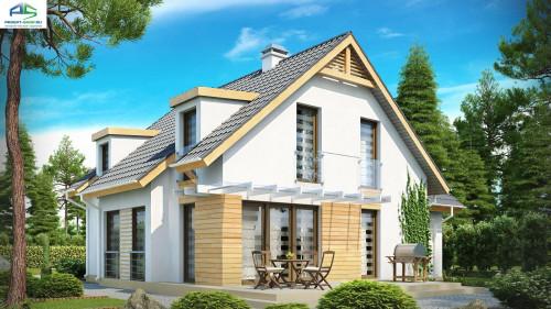 Типовой проект жилого дома Z135