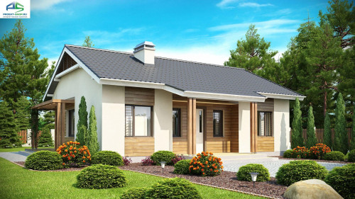 Типовой проект жилого дома Z136