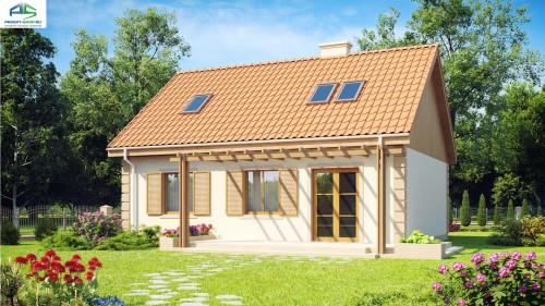 Типовой проект жилого дома Z14