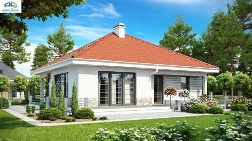 Типовой проект жилого дома z141