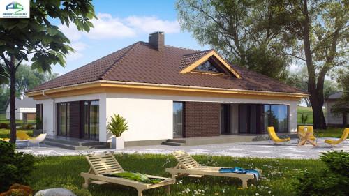 Типовой проект жилого дома z144