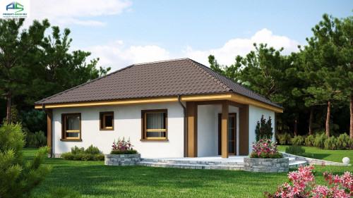 Проект одноэтажного дома z15