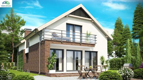 Типовой проект жилого дома z154