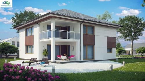 Типовой проект жилого дома z156